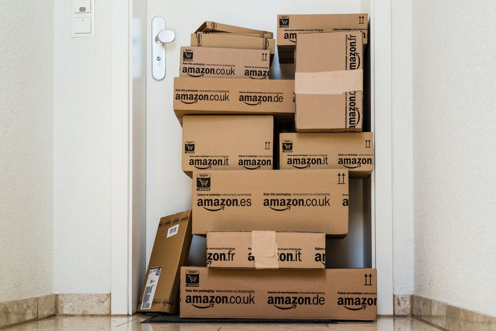 Amazon Stock for FBA Shipping and Inventory Boxes